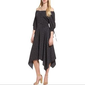 BISHOP + YOUNG Off the Shoulder Swingy Boho Dress